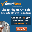 Discount Flight Sale On! $15 Off On Booking.