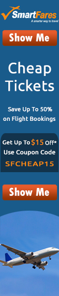 Cheap Tickets! Save up to 70% and get extra $30 Off. Use Coupon Code: SFAIR30. Book Now