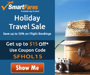 Easter Travel Specials - Book Now & Get $15 Off. Use Coupon Code: SFEASTER15
