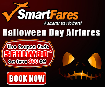 Halloween Travel Discount! Save Up To 70% + Get $30 Off.