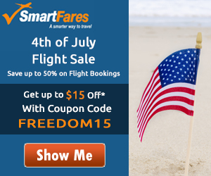 Exclusive Independence Day Flight Deals! Get $30 Off with Coupon Code FREEDOM30. Book Now