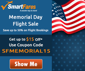 Memorial Day Airfare Discount