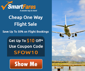 Cheap One Way International Flights! Book Now and Get $30 Off with Coupon Code