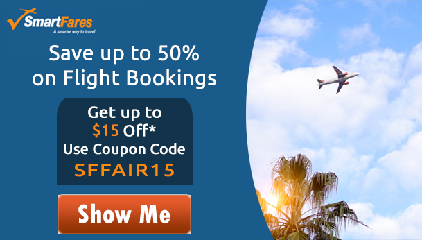 Save Up To 70% on Airfares
