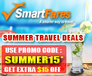 Save Up To 70% + Get $15 Off on Summer Travel Deals
