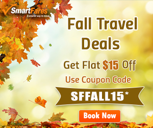 Smartfares Coupon Codes Search cheap flights and cheap airline tickets for both domestic and international destinations. Find out the best deal on cheap airfare and plane tickets with SmartFares to .